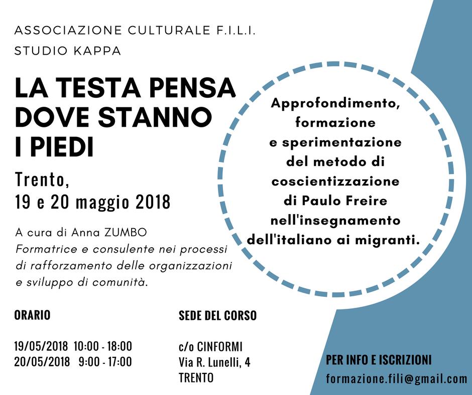 Trento, Maggio 2018